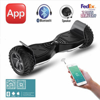 Wholesale 8 Inch Electric Scooters Two Wheel Samsung Battery Self Balancing Scooter Smart Balance Wheel Hoverboard Bluetooth Mobile APP