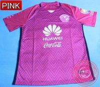 DHL liberan los jerseys del balompié 2017 del club América del club de Whosales Camisa, Jersey rosado ausente 16 del club América del club de Chandal 16 17 camiseta del balompié de O.Peralta