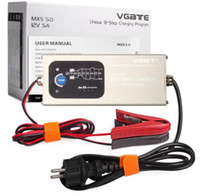 Wholesale New Arrival VGATE Smart Lead Acid Battery Charger Fully Automatic V A with Temperature Compensation MXS
