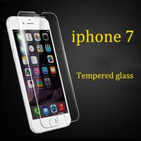 Wholesale 2016 NewTempered Glass For iphone Screen Protector For iphone Glass Tempered with Clean Tools