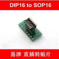 Wholesale DIP16 TO SOP16 Adater board DIP14 DIP10 mm mm Bare board pieces