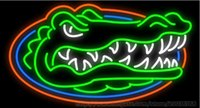 basketball displays - Crocodile NCCA College Florida Basketball Gators Neon Sign Custom Handmade Team Bar Advertisement Display Real Glass Tube Neon Signs quot X14 quot