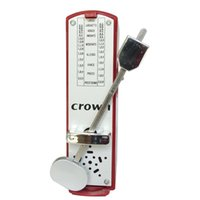 Wholesale Free Shopping Red Color Mini Metronome Mechanical Metronome for Violin