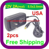 Wholesale 2 AC V To DC V A Power Supply Adapter For CCTV camera