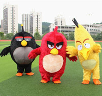 adult bird costume - 2016 Custom made high quality angry red birds mascot costumes bear for adults mascot costume festival fancy dress