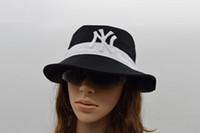 Wholesale 2016 Fashion NY Bucket Hat Hip Hop Bob Bucket Hats unisex for men and women Chapeau Bonnet Femme Fishing Hat Summer Sun Cap
