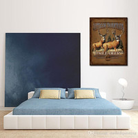 Cheap One Panel Deer paintings Best Oil Painting Abstract cheap paintings