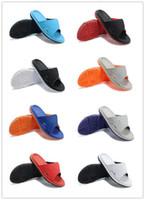 Wholesale 2016 New Arrival Men Jdan retro men slippers Summer Outdoors Comfortable Casual Footwear Slippers men sandals size