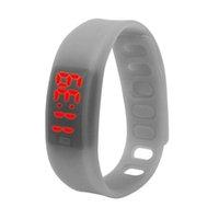 Cheap Scolour Womens Mens Rubber LED Watch Date Sports Bracelet Digital Wrist Watch Date Sports Bracelet Digital Wrist Watch HZQ50827241