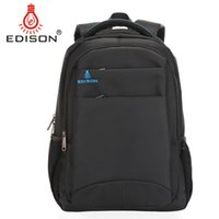 Wholesale Edison Large Capacity Laptop Backpack Waterproof Outdoor Travel Bag to inchs Shoulder laptop bag