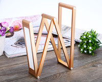 Wholesale New fashion portable folding table lamp W LED low power green LED Golden