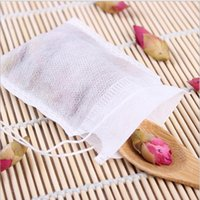 Wholesale Teabags x CM Empty Tea Bags With String Non woven fabric for Herb Loose Tea