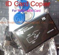 Wholesale KHZ RFID Card Reader Writer ID EM card Copier Duplicater T5557 T5567 T5577 EM4305 For Access Control
