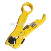 Wholesale New Coaxial Cable Stripper Original Portable Tools For RG59 RG6 RG7 RG11 Easy To Carry And Operation