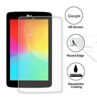 Wholesale Qiaogle Anti explosion Tempered Glass Screen Protector Ultra Hard For LG G Pad V480 inch Premium Screen Protector