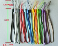 Wholesale Hot colorful universal selfie stick lanyard nylon mobile phone straps for iphone digital device MP3 MP4