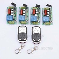 rf system - FreeShipping V CH W RF Wireless Remote Control Switch System Toggle Momentary Latched light switch