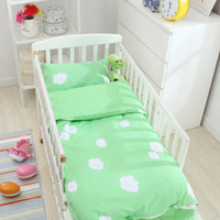 adult baby crib - Hot Sale Ins Crib Baby Bedding Set Bed Linen Include Duvet Cover Set Bed Sheet Pillowcase Style Design