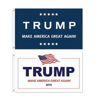 Wholesale cm Trump x5 Foot Flag Make America Great Again Donald for President USA American Presidential