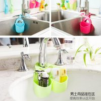 Wholesale hot sale multi purpose colorful kitchen sponge cleaning cloth holder shelf storage rack organizador bathroom storage rack