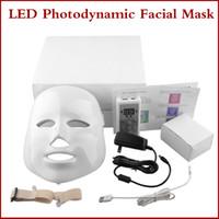Wholesale Korean LED Photodynamic Facial Mask Home Use Beauty Instrument Anti acne LED Skin Rejuvenation LED Photodynamic Facial Mask