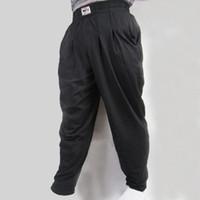 baggy bodybuilding pants - Men s Baggy Pants For Bodybuilding Loose Comfortable Workout Trouser Lycra Cotton High Elastic Designed For Fitness Gymwear