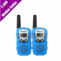 Wholesale T Mini Walkie Talkie UHF MHz W CH For Kid Children LCD Display A0762Z set