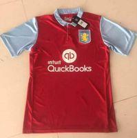 aston villa shirts - Quality Thai Aston Villa Home Red Football Jerseys O neck Short Sleeve Camisa Aston Villa Jersey T Shirts