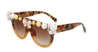 ancient amber - The new fashion trend in large frame women sunglasses parquet restoring ancient ways a well known Chinese designer good men and women gener