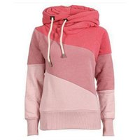 argyle mix - 2016 Spring Women Pullover Hoodies Letters Diffferent Printed Mix Color Casual Sweatshirt Women Fleece Sweatshirts Sudaderas Mujer JBL82