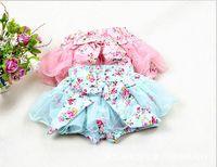 ball legs - baby girl kids pettiskirt tutu skirt cotton vintage flower floral short pants shorts legging bloomers pajamas PJ S layers fluffy costumes p
