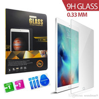 Wholesale For iPad Pro inch Screen Protector Anti Explosion HD Clear Tempered Glass For ipad air Pro mini retail package