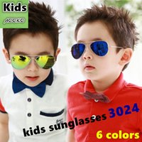 baby uv suits - Hottest Kids Sunglass Child Cool Children Boys Girls UV Pilot Sunglasses Suit to years old baby mm with case