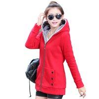 Wholesale Women hoodie thick hoodie zipper hooded hoodie New hoodie female casual hoodie party hoodie