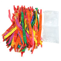 assorted rockets - New Arrival Beautiful Design Assorted Colors Long Rocket Balloons With Plastic Tube Party Fillers Toys cm cm