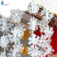 affordable christmas trees - 2016 Christmas snowflake affordable very realistic Very suitable for Christmas trees and window decoration and family Settings