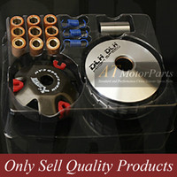 Wholesale High Performance DLH Variator Kit with Roller Weights Drive Pulley for GY6 cc QMB QMA Dio cc Scooter Moped ATV