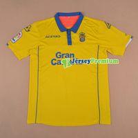 Wholesale 2016 UD Las Palmas Home Yellow Football Soccer Jerseys