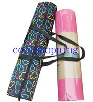 Wholesale Multifunctional Yoga Mat Carrier Bags Adjustable Strap Yoga Sport Pad Backpacks