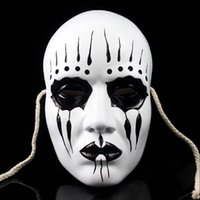 beautiful man - Party Masks Festive Party Supplies Resin Edition Slipknot Movie Theme Slipknot Joey Mask PVC Halloween Gfts Beautiful