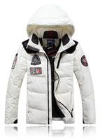 Wholesale Parka man Winter jacket men down Thick men s down coat Super warm outdoors Male ski suit Plus size XL