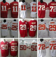 berry cotton - Chiefs Alex Smith red Jamaal Charles red Jeron Johnson red Eric Berry red Men Football Jerseys Accept Mix Order