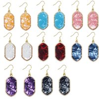 Wholesale Gometric Kendra Earrings Scott Style Chandelier Dangles for Women Bulk Price