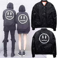 air demon - New Plus size Stab Witch Demon Grimace Thick Jacket Air Force Flight Suit Loose Jacket For Men And Women