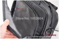 Livraison gratuite 2014 nouveau nylon noir sac d'ordinateur portable Lenovo pour le sac des hommes de portable pour les accessoires informatiques 14 15 15.6 pouces