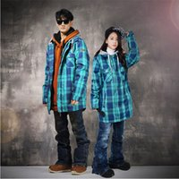 Wholesale New Male Snowbowarding Jackets Tracksuit Female Snowboard Winter Windproof Ski Coat Waterproof Warm Skiing Jacket Lovers Models
