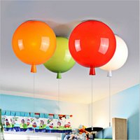 LED balloons ceiling - Novelty Color Balloon Ceiling Lights Modern Style Restaurant A Living Room light Children Bedroom Lamp lamparas de techo