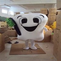 Wholesale Tooth brush mascot costume tooth mascot costume toothbrush mascot costume adult size for Christmas East Sunday hallowmas New Year