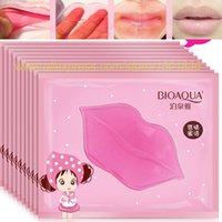 add gel - added bikini Super Lip Plumper Crystal Collagen Lip Mask Pads Moisture Essence Anti Ageing Wrinkle Patch Pad Gel Full Lips Enha