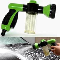 accessories water pressure - Car Multifunction Accessory Auto Plastic Car Foam Water Gun portable High Pressure Car Washer Water Gun Home Car Foam Gun